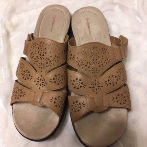 Croft & Barrow  Adjustable Sandals sz 10